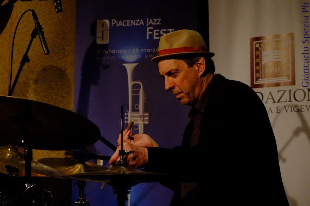 George Schuller - Piacenza Jazzfest - 20 marzo 2018 - foto Giancarlo Spezia