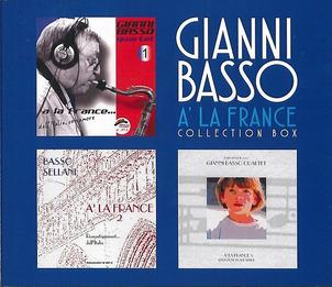 Gianni Basso «À la France. Collection Box»
