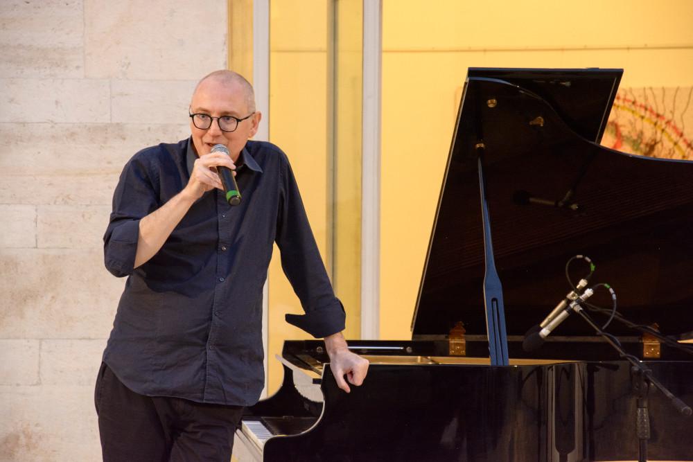 Gianni Lenoci (foto di Cinzia Cantatore) - Talos Festival 2019