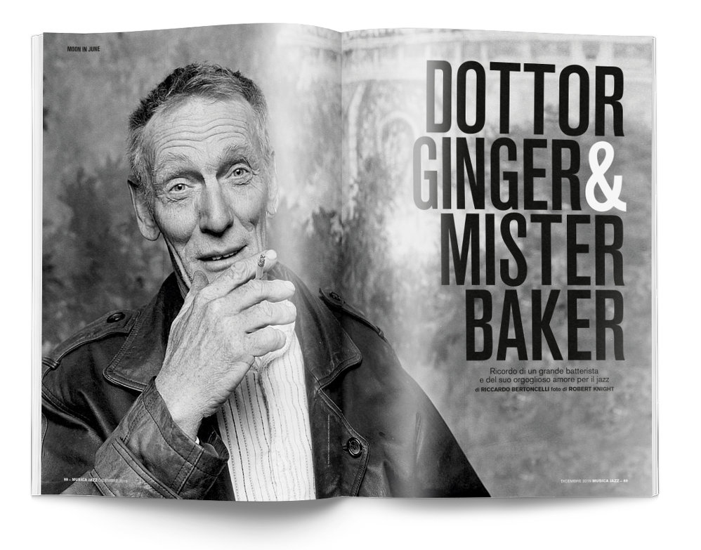 Ginger Baker - Musica Jazz di dicembre 2019