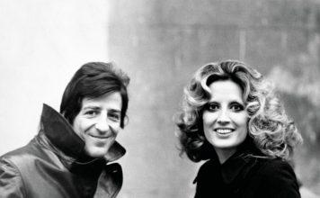 Giorgio Gaber e Mina (foto di Rino Petrosino)