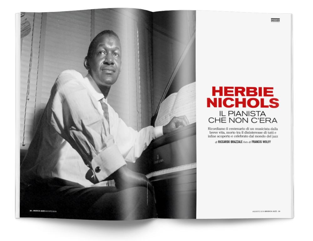 In edicola Musica Jazz di agosto 2019 - Herbie Nichols