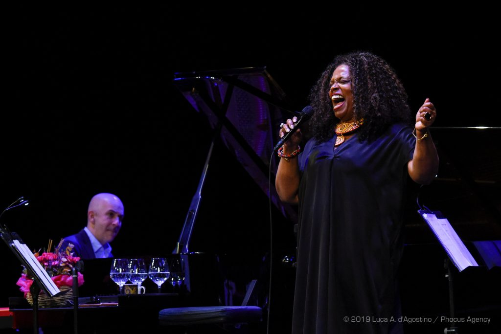 Jazz & Wine of Peace - Dianne Reeves e Peter Martin, foto di Luca A. D'Agostino / Phocus Agency