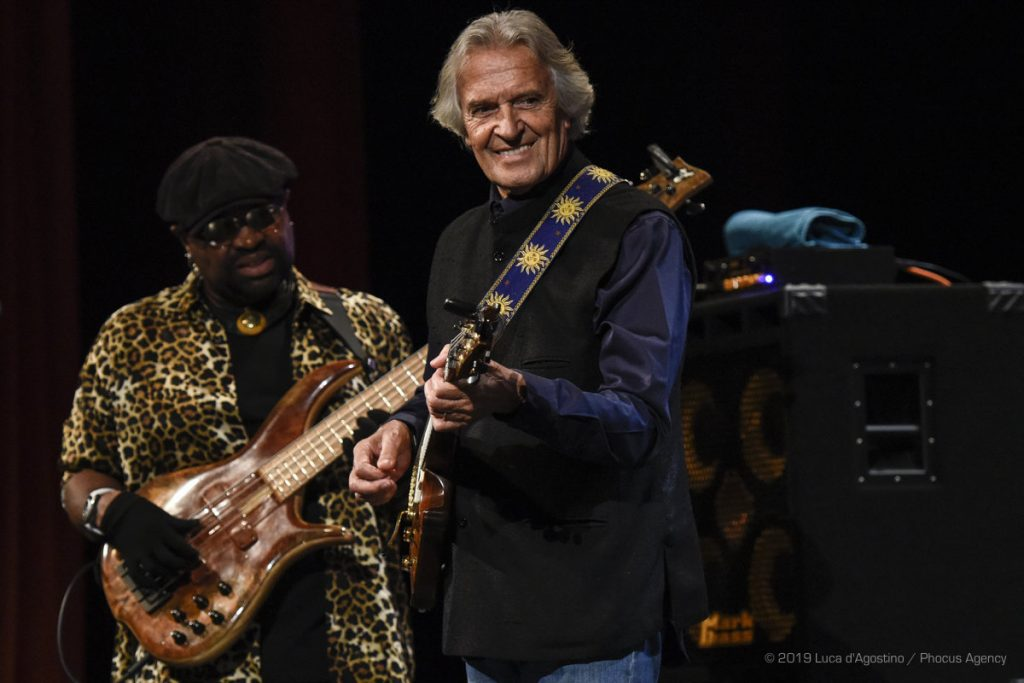 Jazz & Wine of Peace - John McLaughlin ed Etienne M'Bappé, foto di Luca A. D'Agostino / Phocus Agency