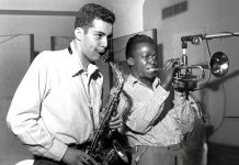 Jackie Mclean and Miles Davis