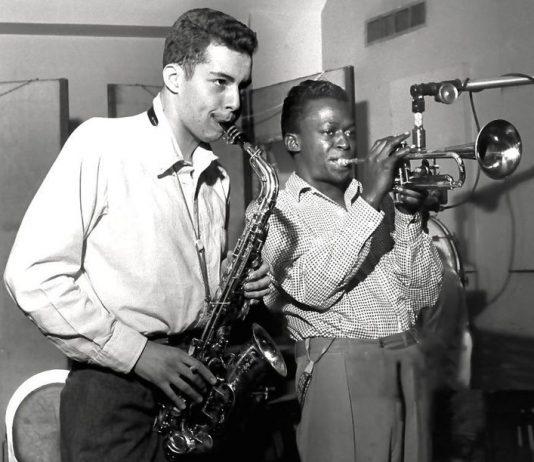 Jackie Mclean and Miles Davis