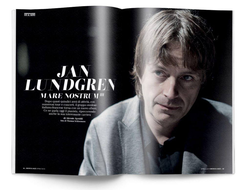 Jan Lundgren - Musica Jazz aprile 2019