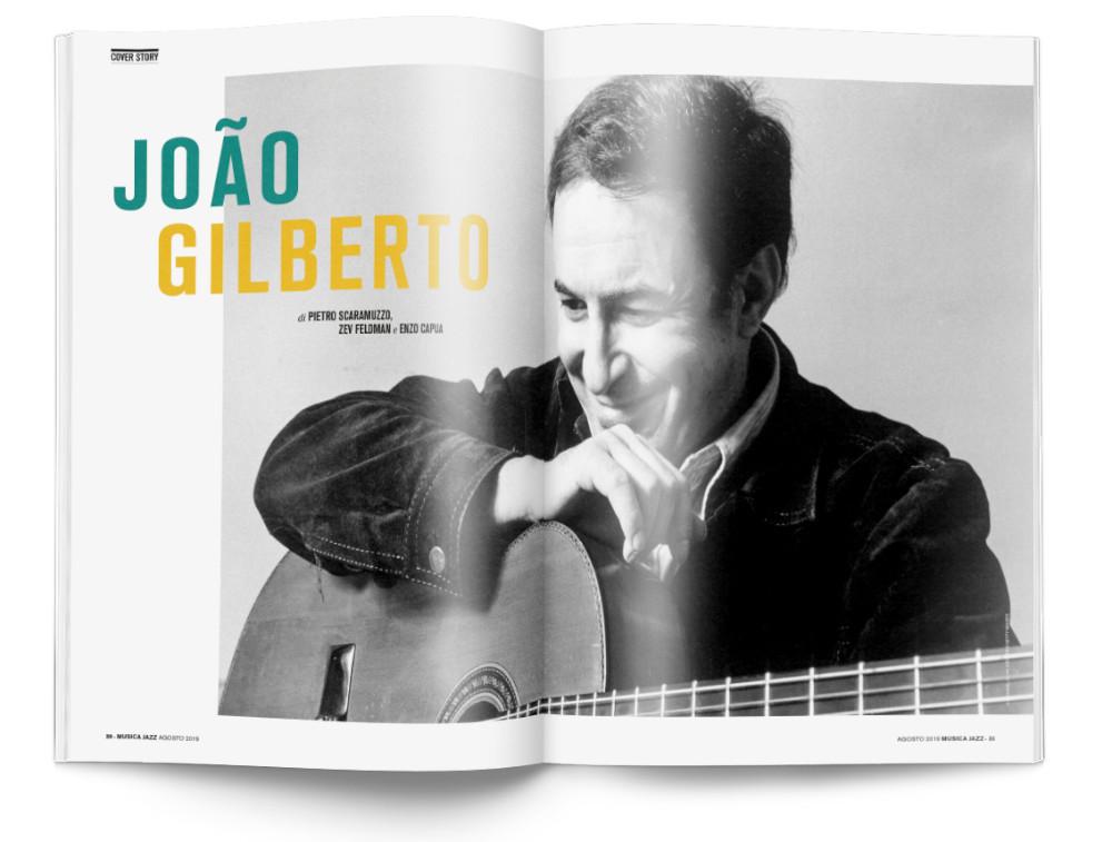 In edicola Musica Jazz di agosto 2019 - João Gilberto
