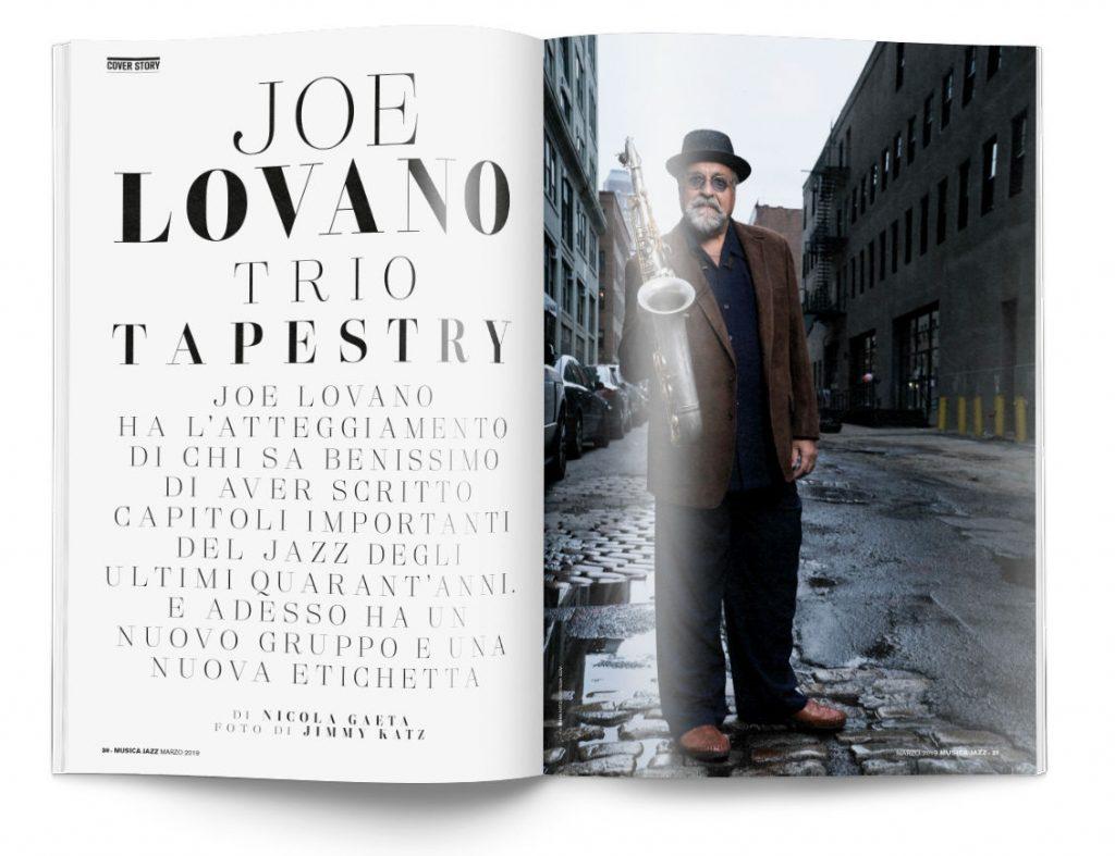 Joe Lovano - Musica Jazz marzo 2019