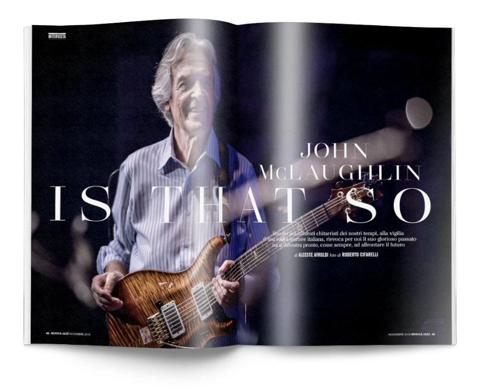 John McLaughlin - Musica Jazz di novembre 2019