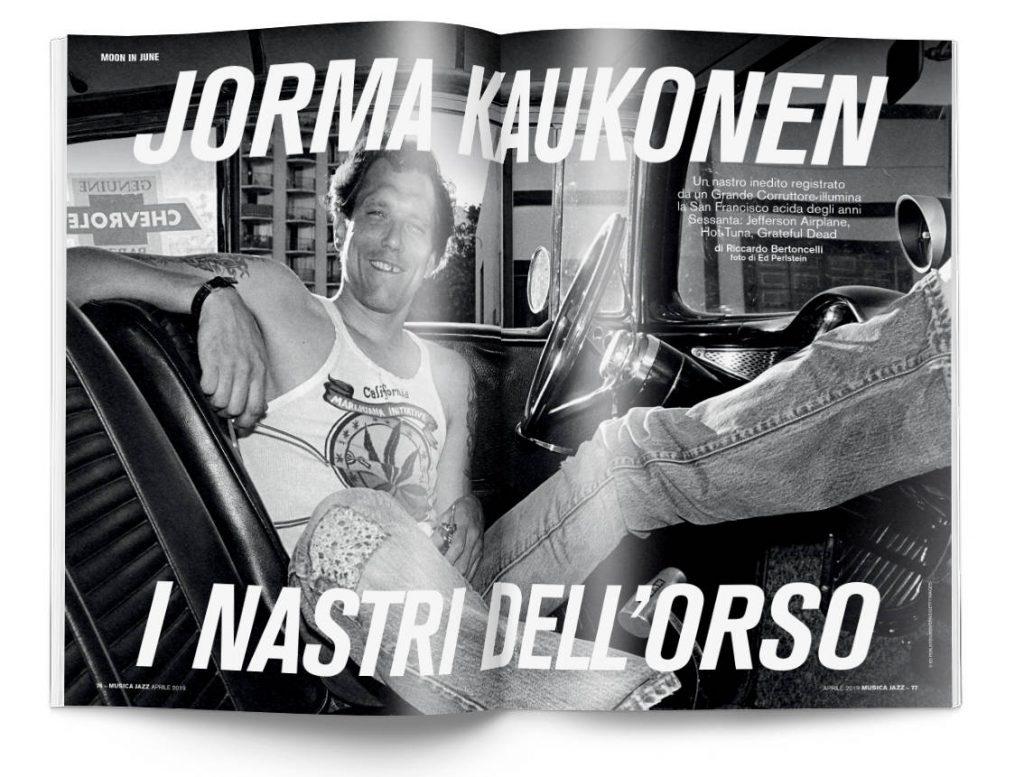 Jorma Kaukonen - Musica Jazz aprile 2019