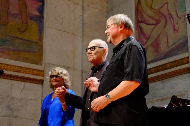 Karin Krog, Steve Kuhn e John Surman, Oslo Jazz Festival - foto Francesco Spezia