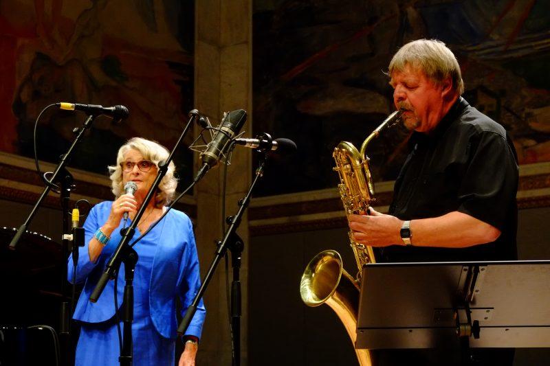 Karin Krog e John Surman, Oslo Jazz Festival 2017 - foto Francesco Spezia