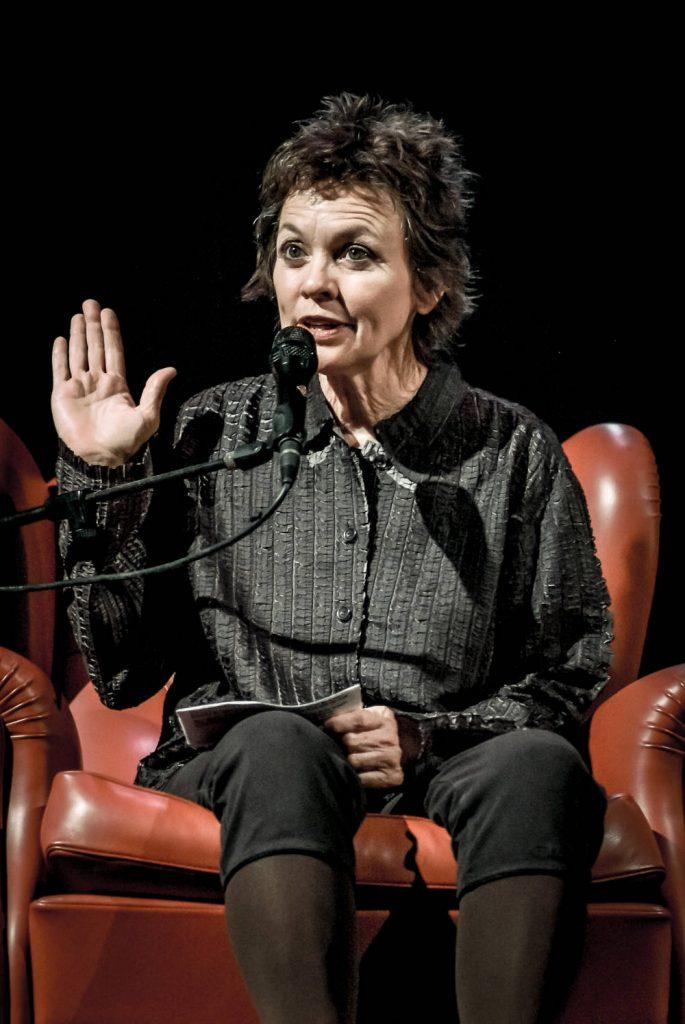 Laurie Anderson (foto di Roberto Cifarelli)