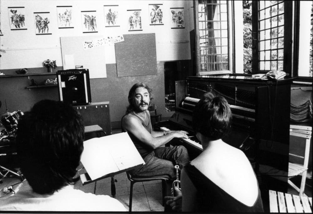 Come nasce Siena Jazz - Una lezione di Enrico Rava