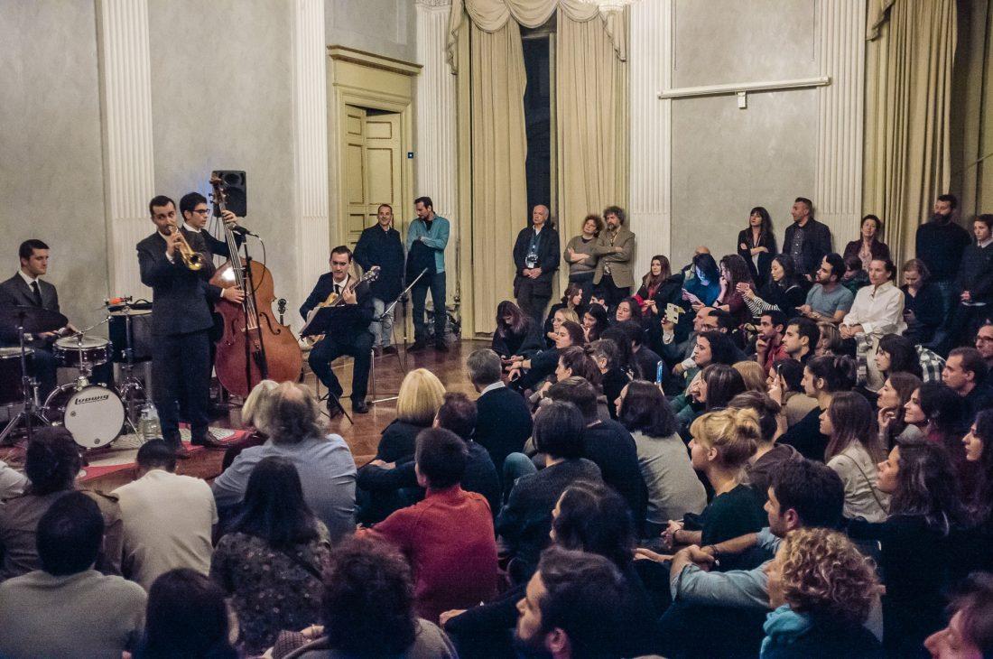 Uno dei concerti di JazzMi 2017, con il salone pieno di pubblico