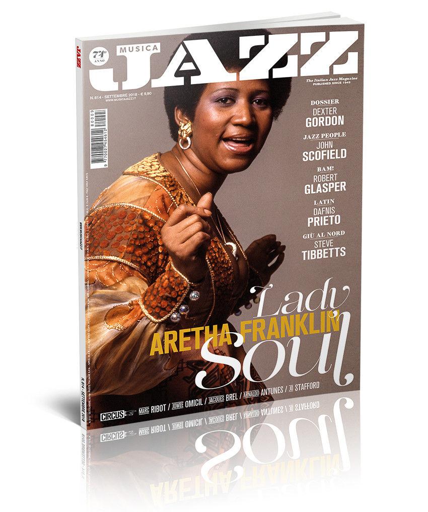 In edicola Musica Jazz di settembre 2018 - Aretha Franklin