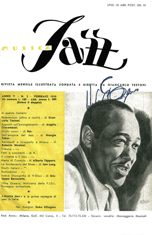 Musica Jazz febbraio 1949