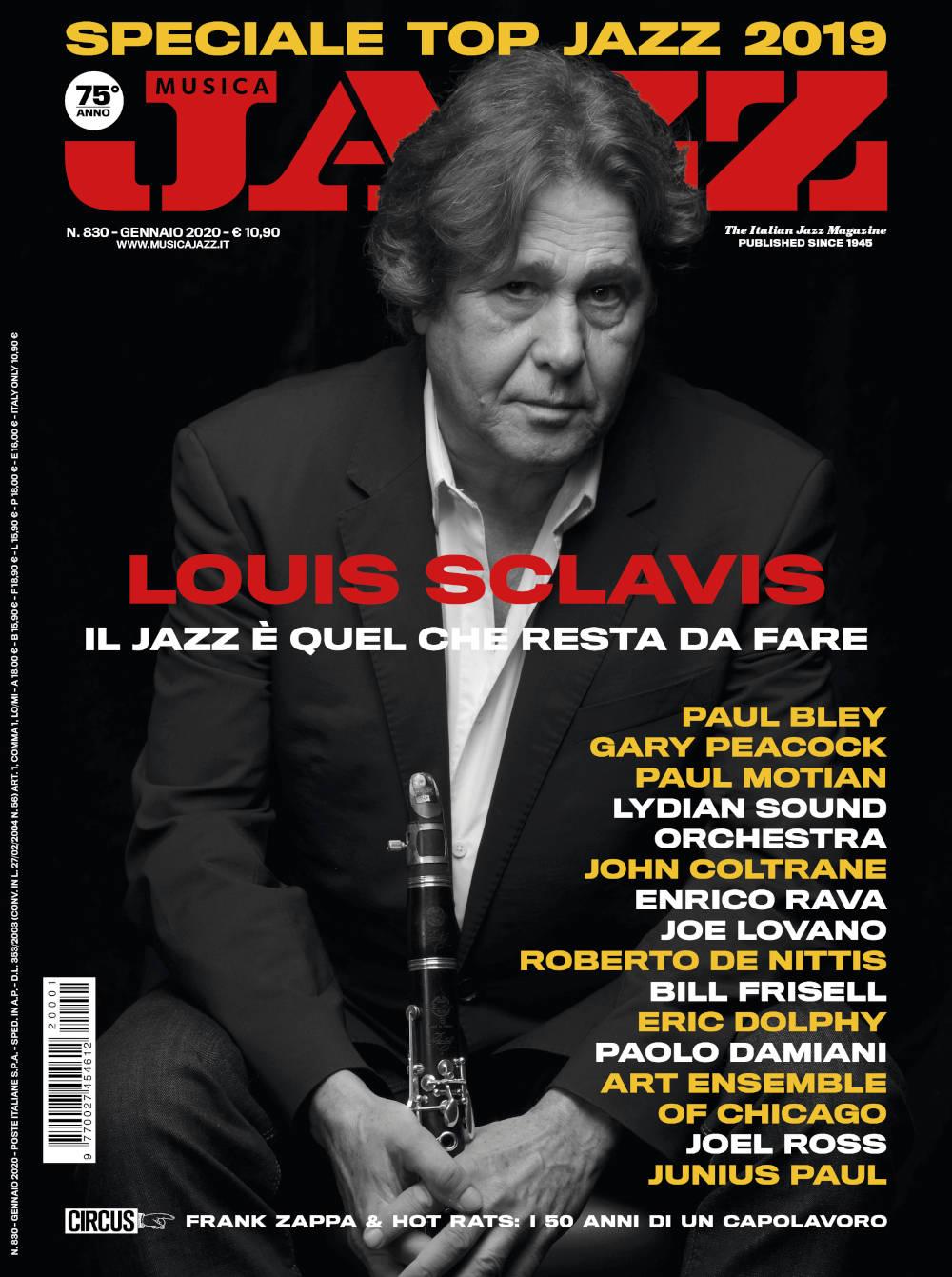 Letture musicali: Cosa stiamo leggendo in questo periodo? - Pagina 3 MJ012020-cover-Louis-Sclavis