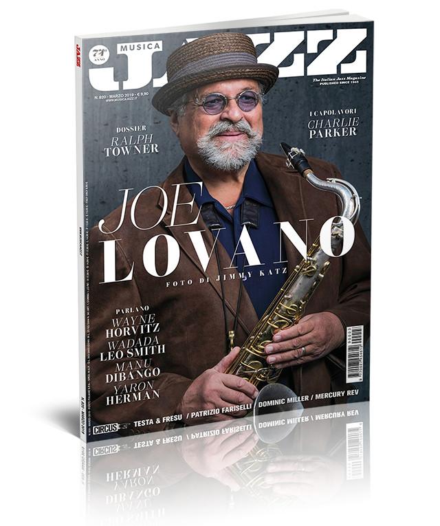 Musica Jazz marzo 2019 - Joe Lovano