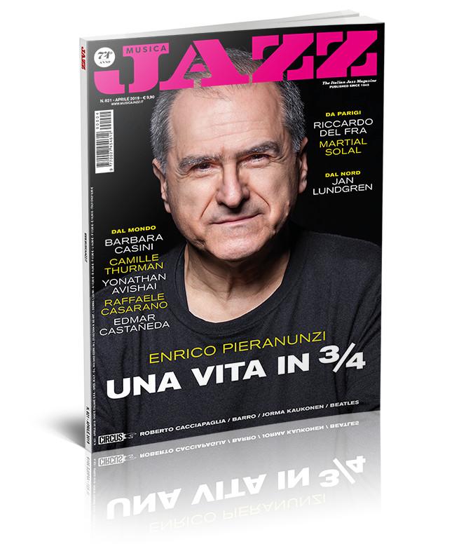 In edicola Musica Jazz di aprile 2019 - Enrico Pieranunzi