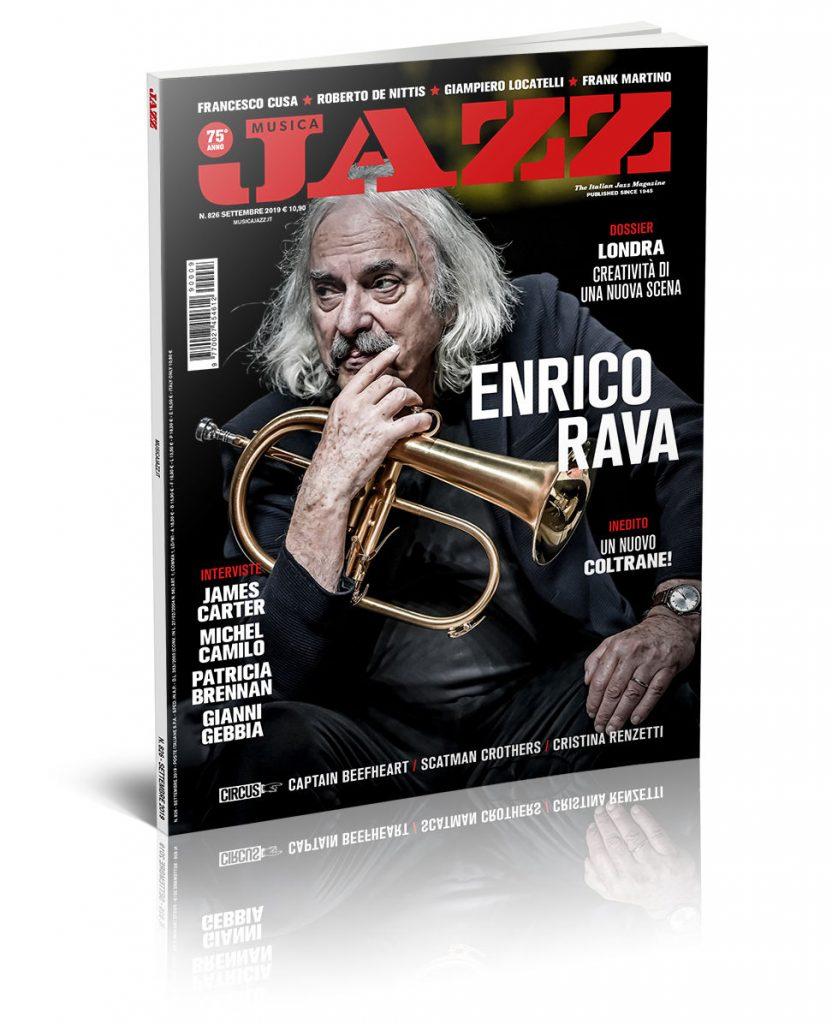 In edicola Musica Jazz di settembre 2019