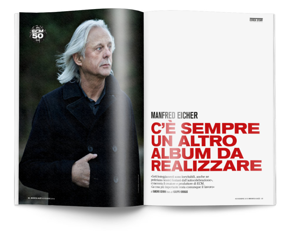Manfred Eicher - Musica Jazz di novembre 2019