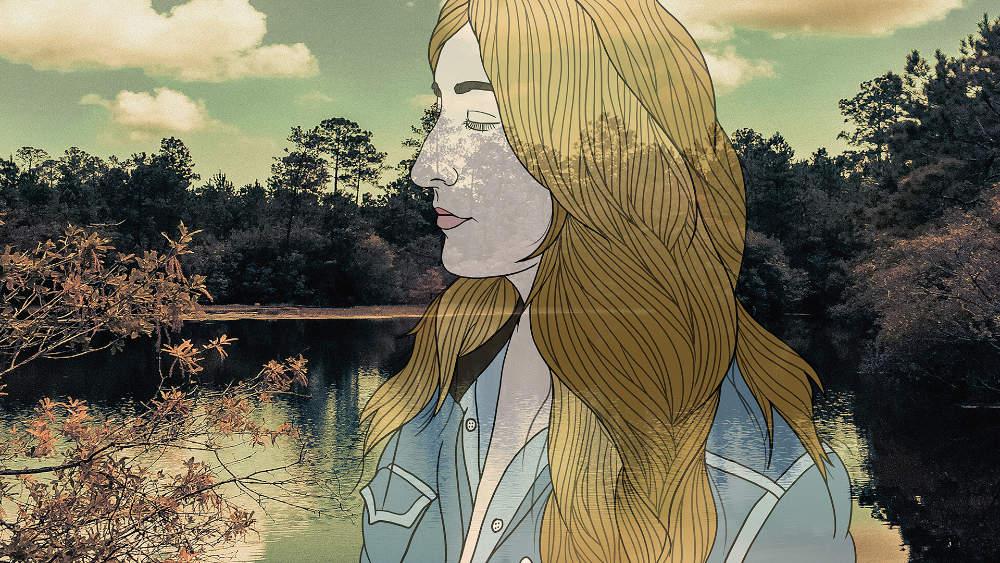 Il ritratto di Margo Pryce presente nel disco dedicato a Bobbie Gentry