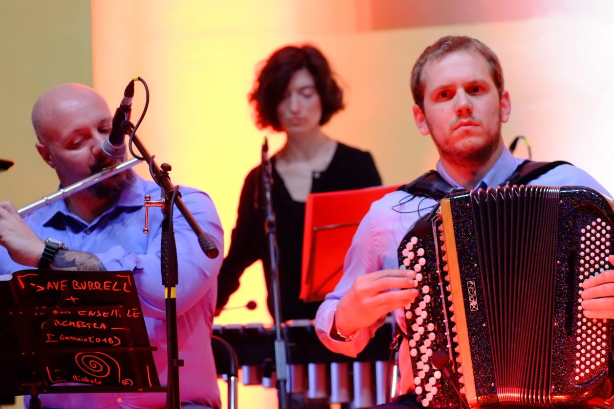 Michele Branzoli, Marta Cametti, Piero Geymonat - Ararat Orchestra, Novara Jazz 2018