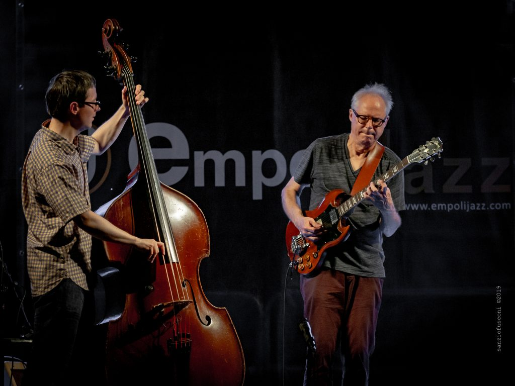 Thomas Morgan e Bill Frisell, foto di Sanzio Fusconi