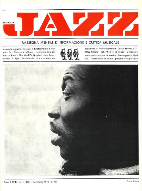 Musica Jazz del novembre 1972