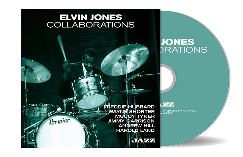 Elvin Jones - Collaborations (CD allegato a Musica Jazz di ottobre 2019)
