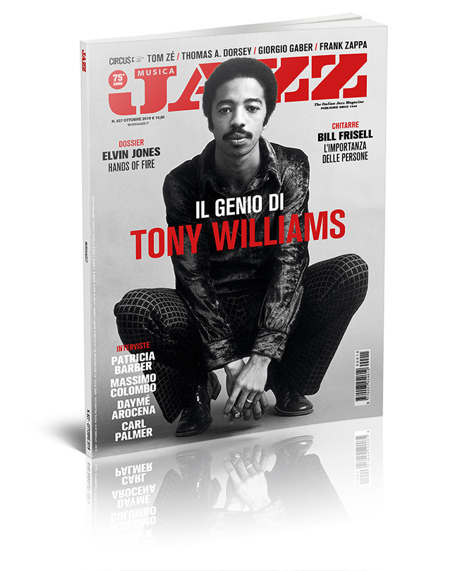 Musica Jazz di ottobre 2019 è in edicola - Tony Williams