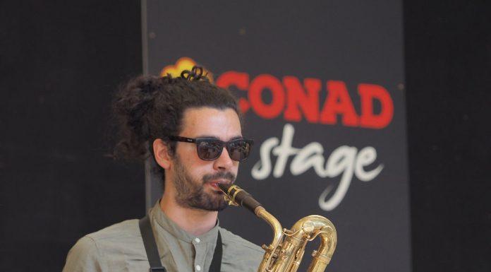 Esibizione sul Conad Stage di Ornicar, finalista dell'edizione 2018.