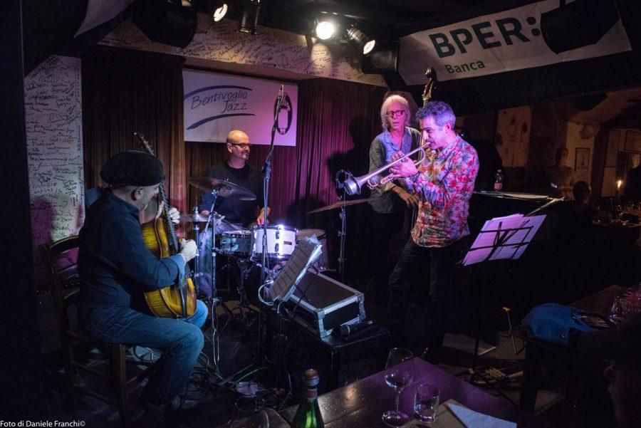 Paolo Fresu Devil Quartet, Cantina Bentivoglio Bologna, 28 febbraio 2018 - foto di Daniele Franchi
