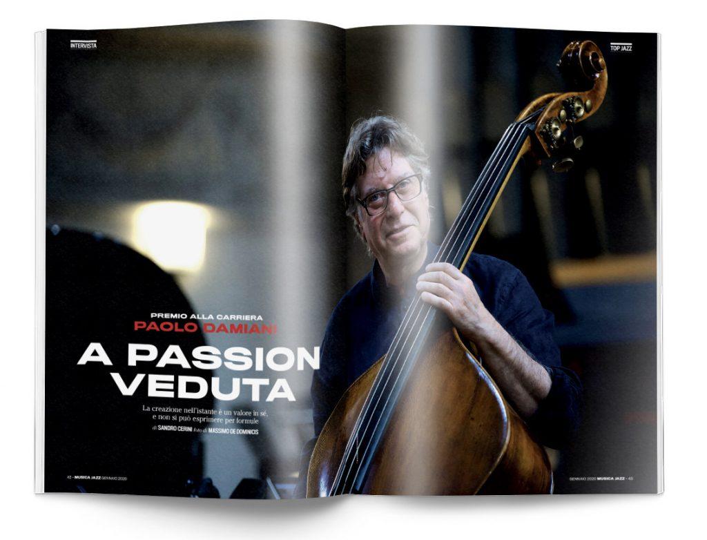 Paolo Damiani - Musica Jazz di gennaio 2020