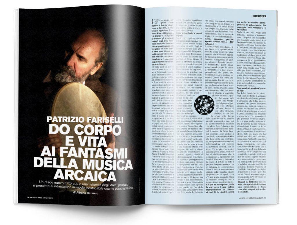 Patrizio Fariselli - Musica Jazz marzo 2019