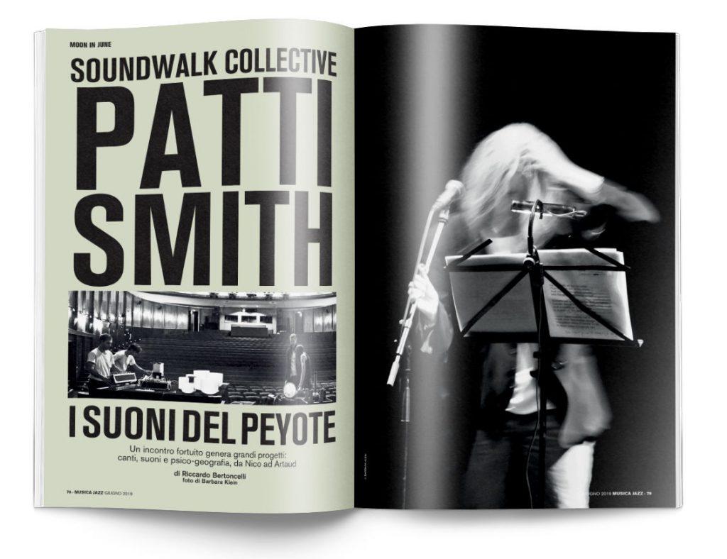 Patti Smith - In edicola Musica Jazz di giugno 2019