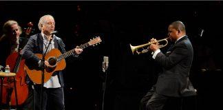 Paul Simon e Wynton Marsalis