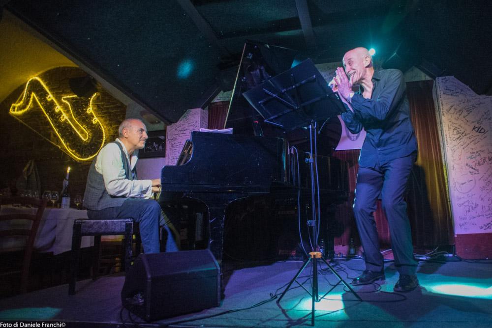 Danilo Rea e Peppe Servillo (foto di Daniele Franchi)