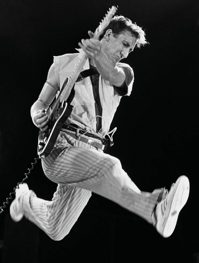Pete Townshend of The Who (New York, 1982)