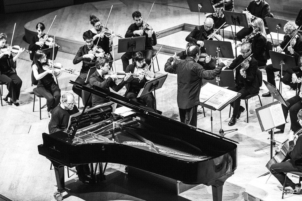 Perpianoeorchestra - Enrico Pieranunzi, Paolo Silvestri e l'orchestra I Pomeriggi Musicali