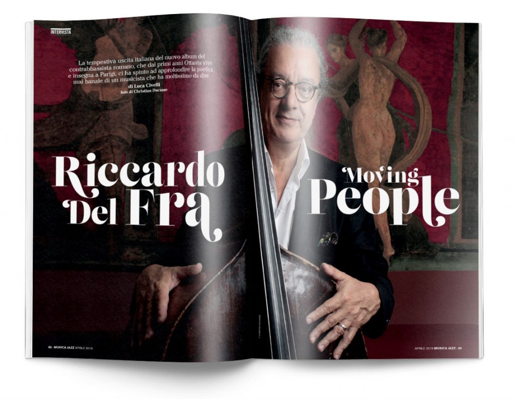 Riccardo Del Fra - Musica Jazz aprile 2019