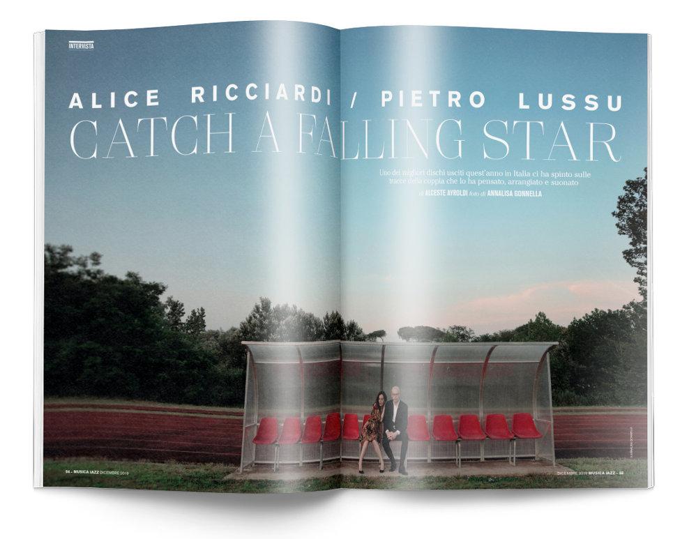 Alice Ricciardi / Pietro Lussu - Musica Jazz di dicembre 2019