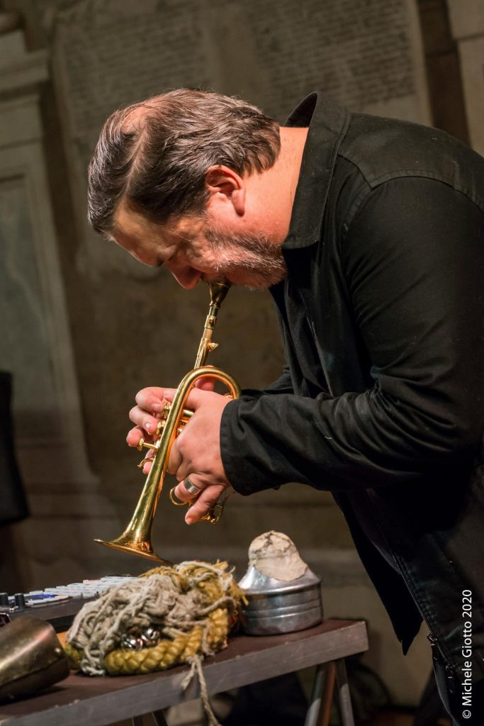 Rob Mazurek (foto di Michele Giotto)