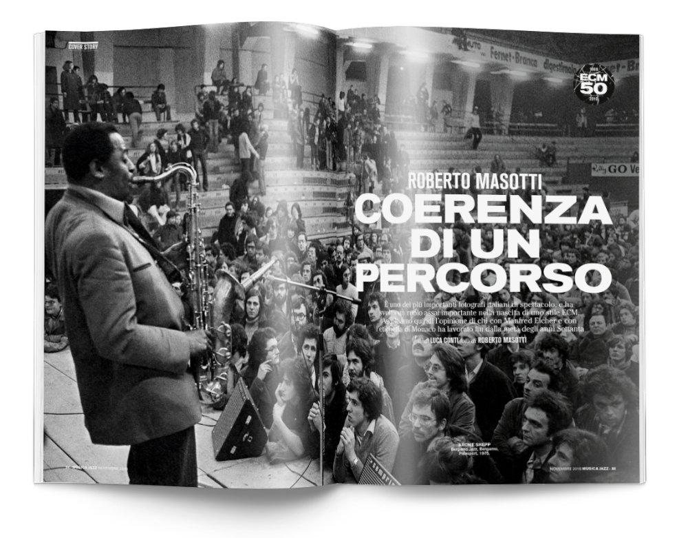 Roberto Masotti - Musica Jazz di novembre 2019