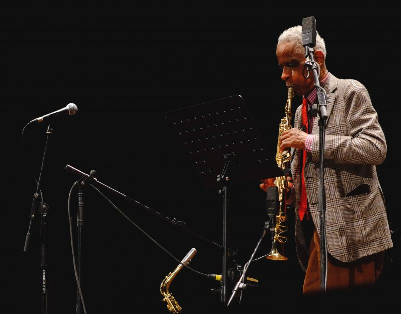 Roscoe Mitchell con Art Ensemble of Chicago, Reggio Emilia, 21 ottobre 2017