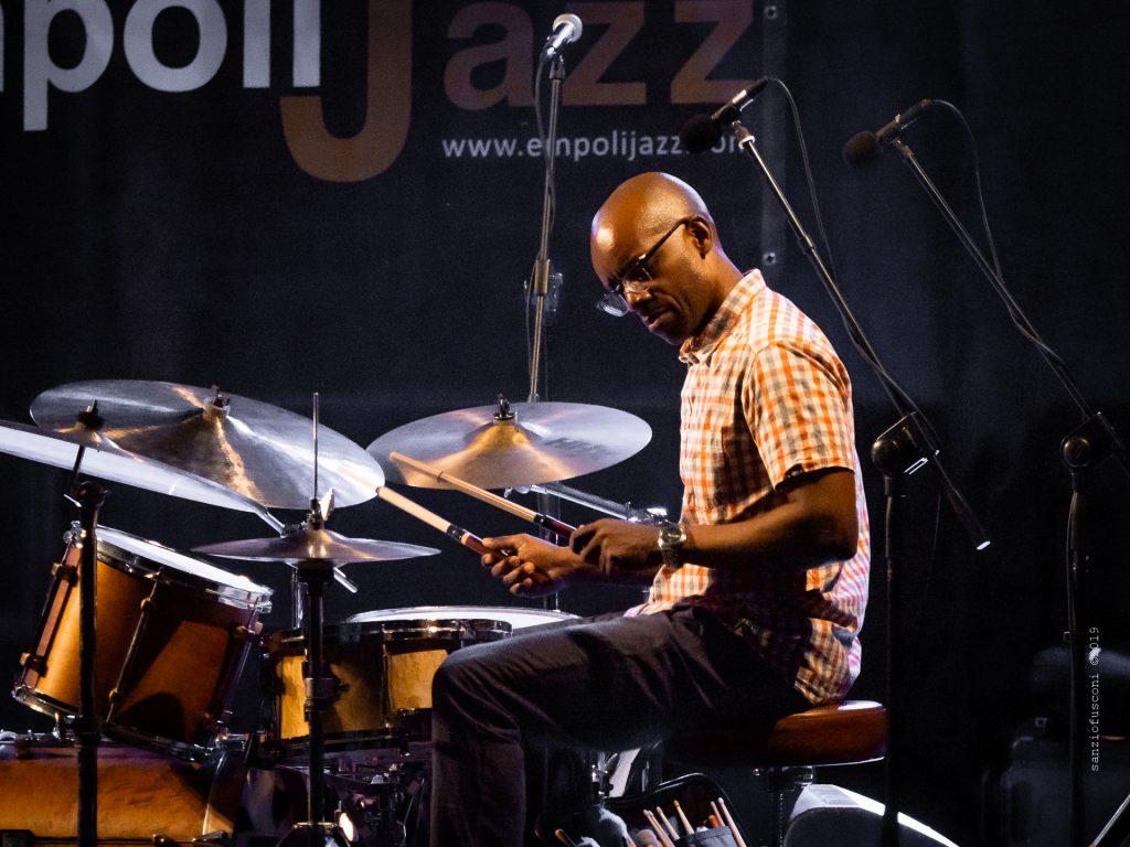 Rudy Royston, foto di Sanzio Fusconi