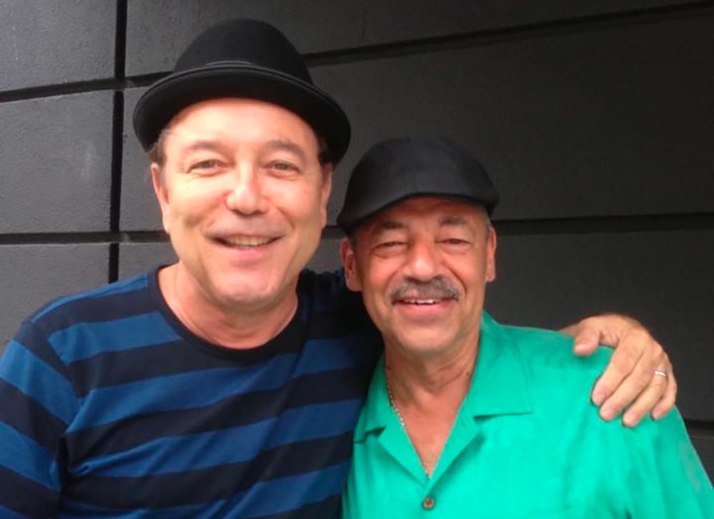 Rubén Blades e Michael Viñas