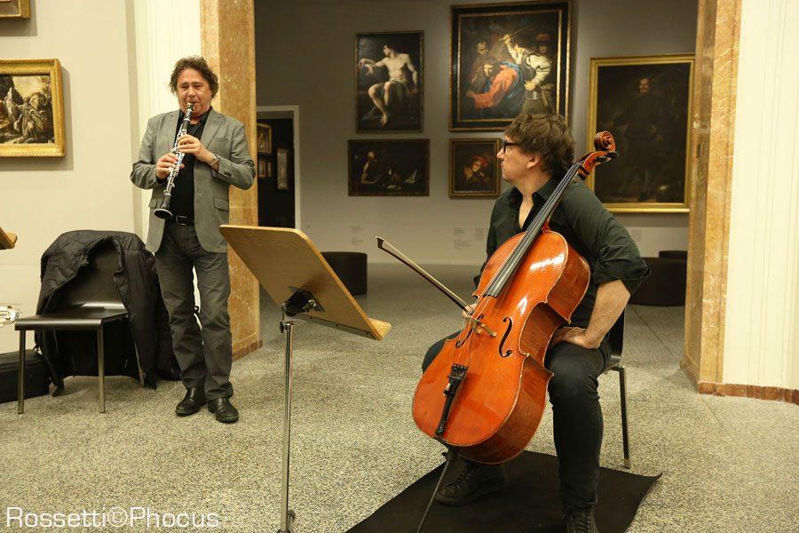 Louis Sclavis e Vincent Courtois, Accademia Carrara, Bergamo Jazz 2018